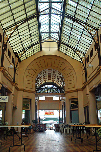 charters towers stock arcade