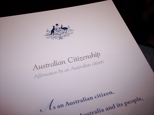 australian citizenship affirmation