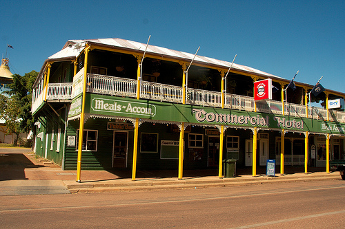 barcaldine commercial hotel