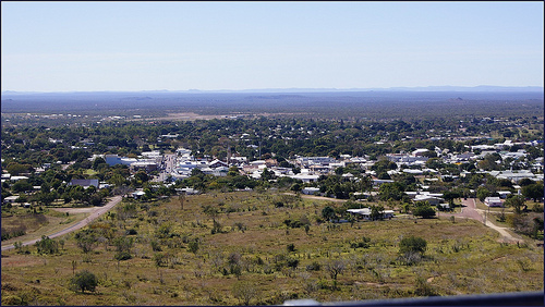 charters towers lookout