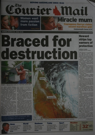 cyclone larry courier mail