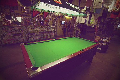 daly waters pool table