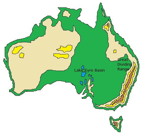 Australia Map Vegetation.Geography Of Australia