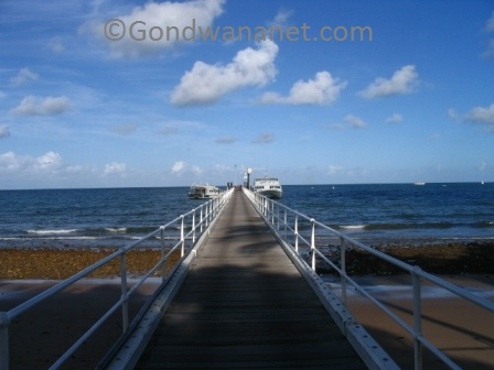 mission beach jetty
