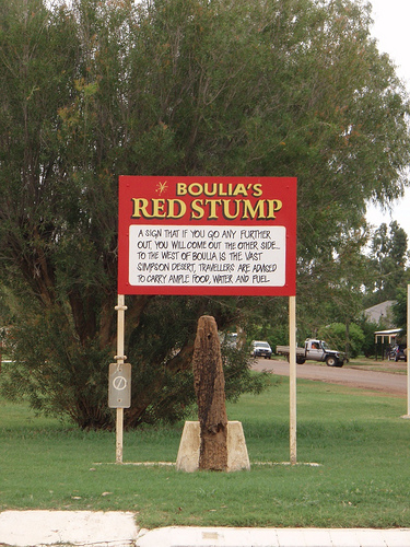 red stump