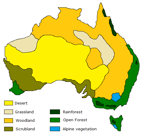vegetation zones