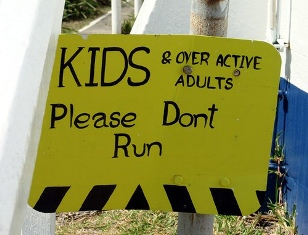 Do not run